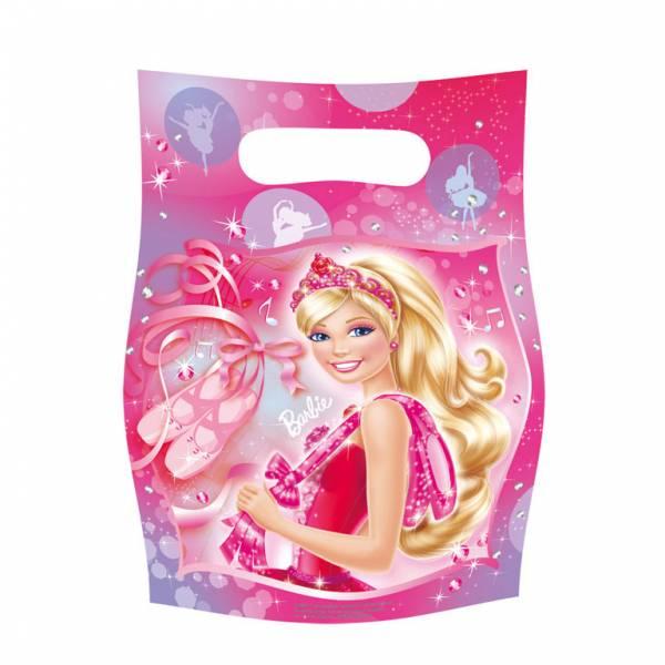 Bilde av Barbie Ballerina, Godteposer 6 stk.