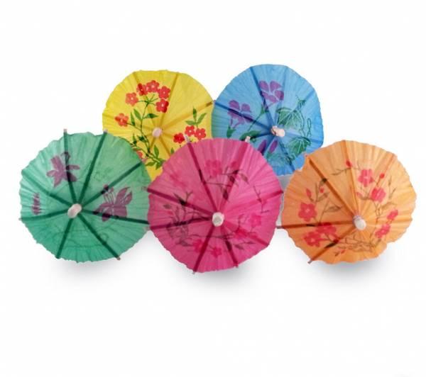 Bilde av Paraply-dekorasjon 10 stk