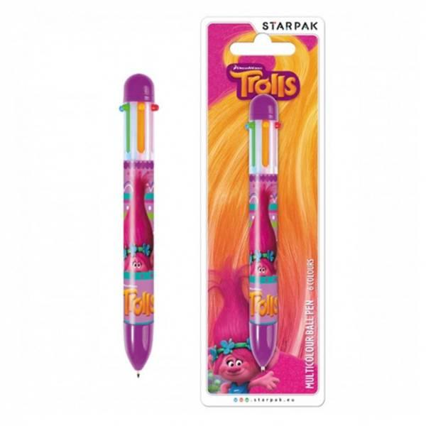 Bilde av Trolls Multi Colour pen