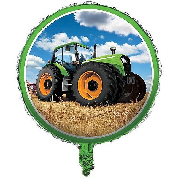 Bilde av Traktor Folieballong, 43 cm