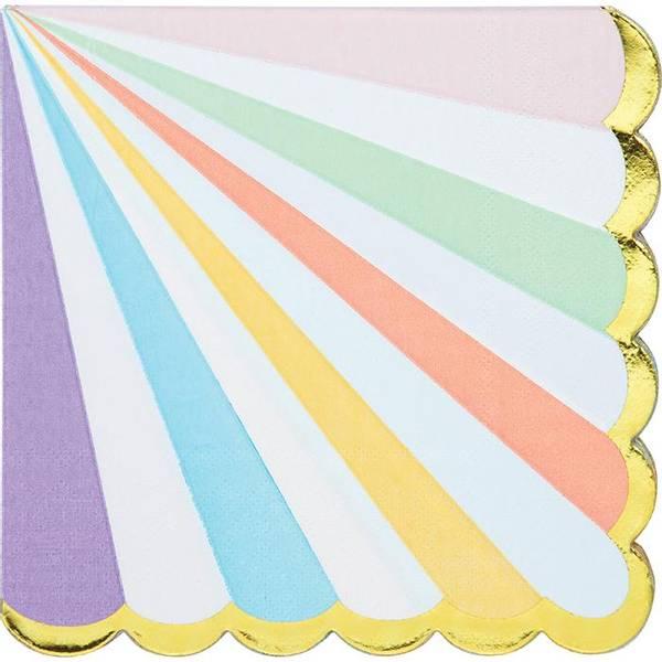 Bilde av Pastell Servietter, 16 stk