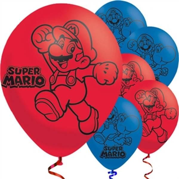 Bilde av Super Mario Ballonger 2, 6 Stk