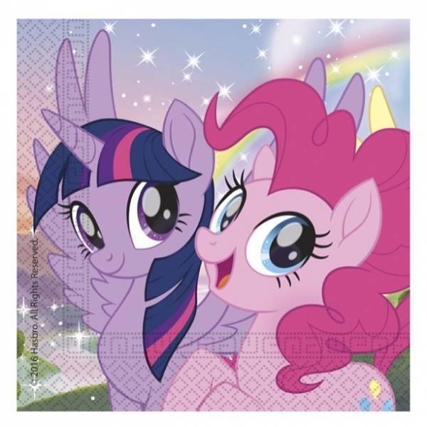 Bilde av My little Pony Servietter, 20stk