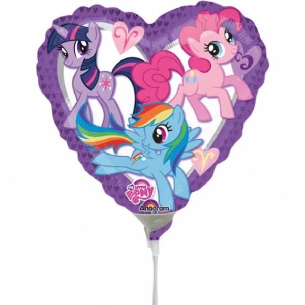Bilde av My little Pony, Hjerte folieballong