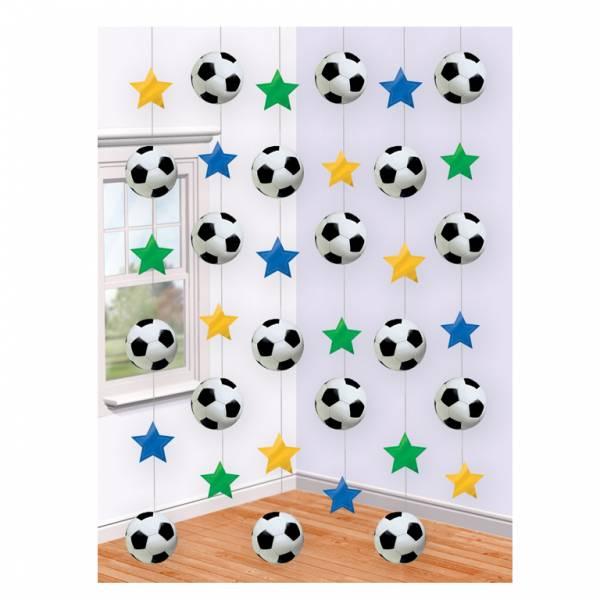 Bilde av Hengende fotball dekorasjoner