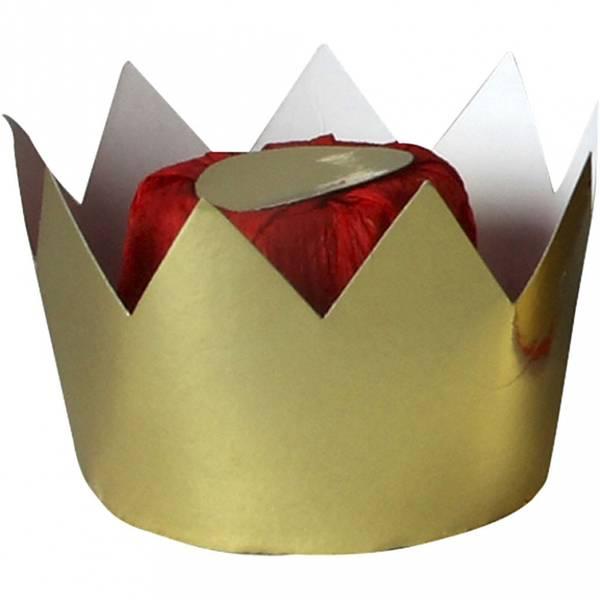 Bilde av Dronningkrone Gull, 7 X 9Cm