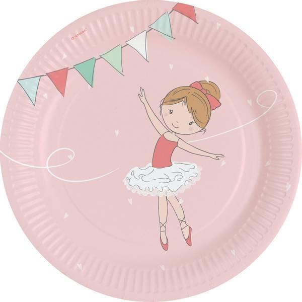 Bilde av Ballerina Little Dancer, Tallerken 8 stk
