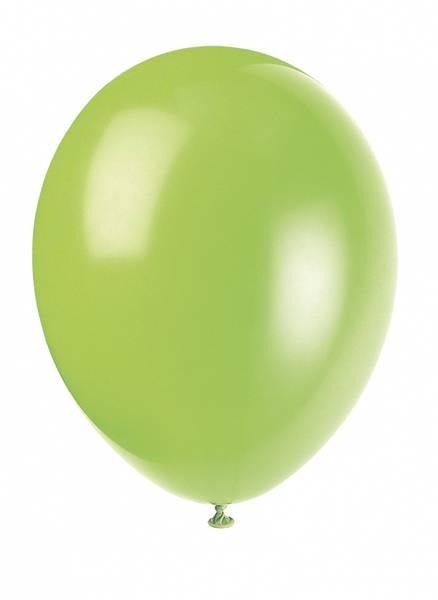 Bilde av Neon Lime, Ballonger 10stk