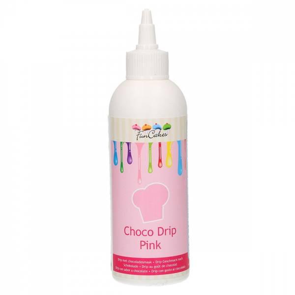 Bilde av FunCakes Choco Drip Pink 180g