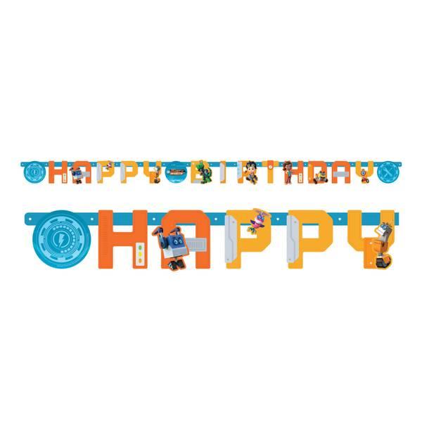 Bilde av Rusty Rivets, Happy Birthday Banner