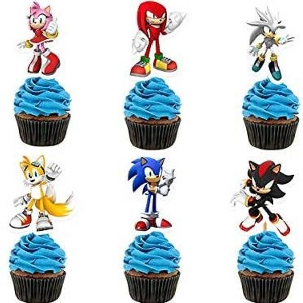 Bilde av Sonic Toppers, 12 stk
