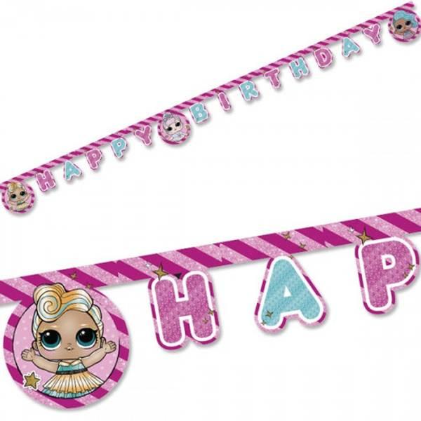 Bilde av LOL suprise Happy Birthday-banner, 2