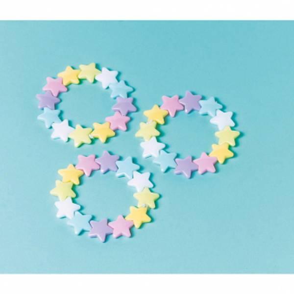 Bilde av Pastell Stjerne Armbånd, 1 stk
