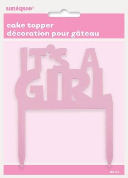 Bilde av It's a girl Kaketopper 2