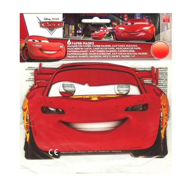 Bilde av Cars, Masker 6stk