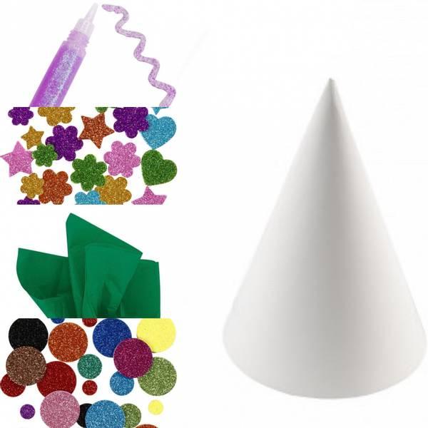 Bilde av Hobbypakke Jul, Bruk fantasien -Store juletrær 2 stk