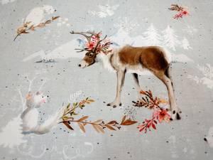 Bilde av Nordische Weihnachten french terry lillestoff
