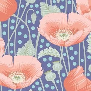 Bilde av Tilda Gardenlife - Poppies Blue