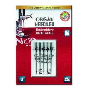 Bilde av Organ Broderi Anti Glue 90-100, 5-pakk