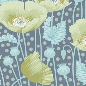 Bilde av Tilda Gardenlife - Poppies Grey Green