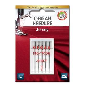 Bilde av Nål Organ Jersey SUK ball point 70, 5-pakk