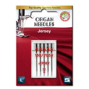Bilde av Nål Organ Jersey SUK ball point 90, 5-pakk