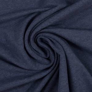 Bilde av Jersey økotex - Melert mørkeblå