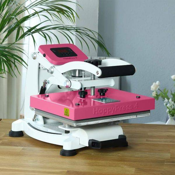 A4 - Happy press 4 - pink