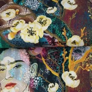 Bilde av Kunst print Frida - jersey