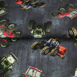 Bilde av Traktor dongeri look - jersey