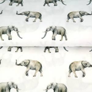 Bilde av Elefanter på rent hvit - jersey