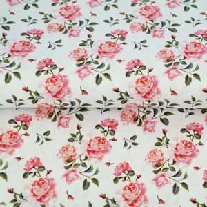 Bilde av print - roser på rent hvit