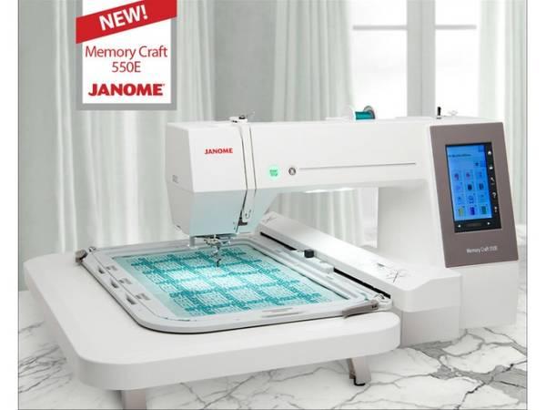 Janome MC 550E Broderimaskin