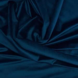 Bilde av GPå lager! velour til gardiner - mørkeblå