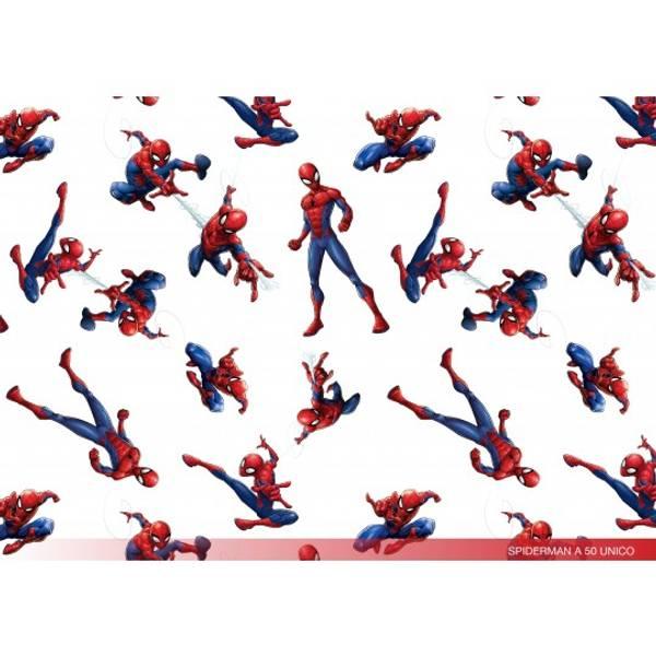 Spiderman - vevet bomull
