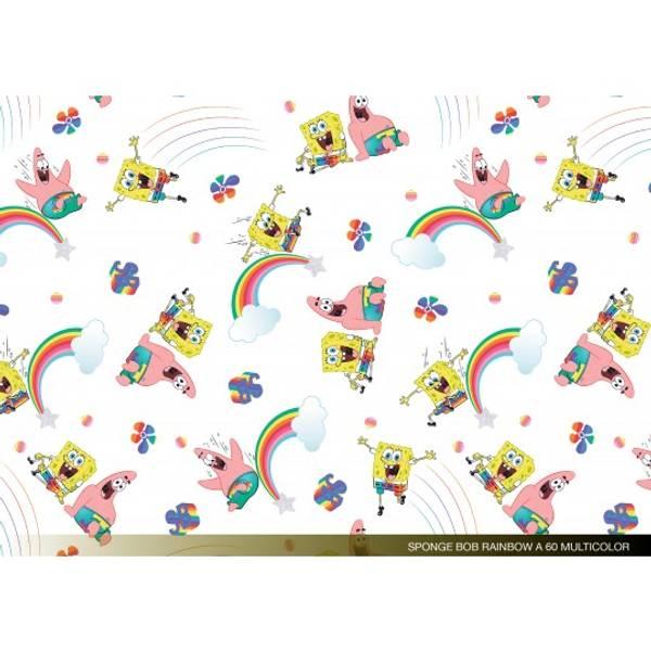 Spongebob Svampebob - vevet bomull