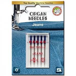 Bilde av Organ Nål Jeans 90-100 5er