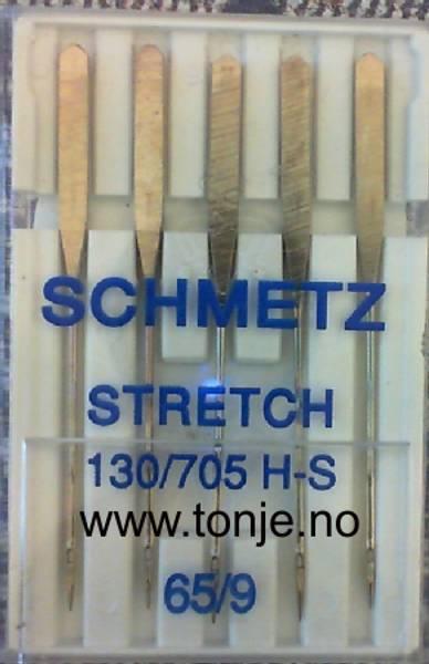 Bilde av (23E21) Nåler Stretch H-S 65 5-pakk SCHMETZ