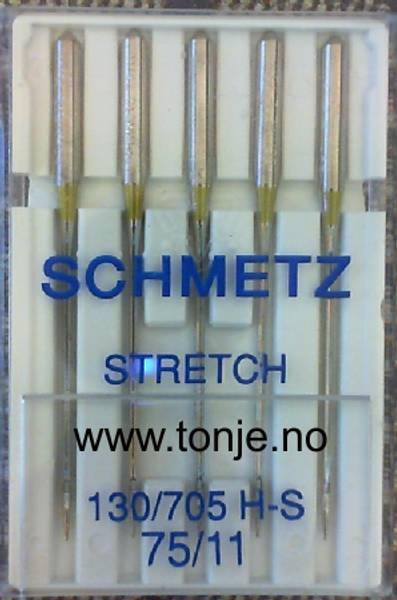 Bilde av (23E22) Nåler Stretch H-S 75 5-pakk SCHMETZ