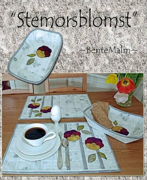 Bilde av 087 Stemorsblomst - Bente Malm Mønster