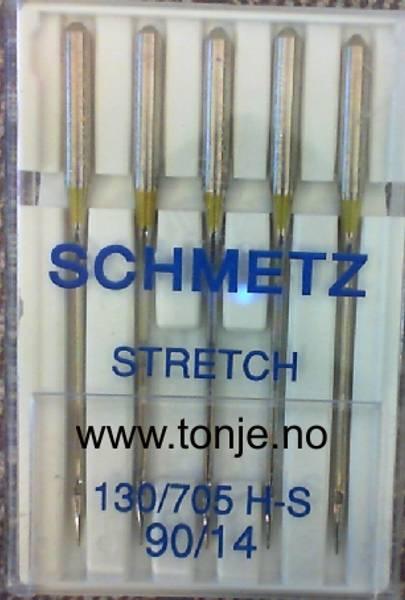 Bilde av (23E23) Nåler Stretch H-S 90 5-pakk SCHMETZ