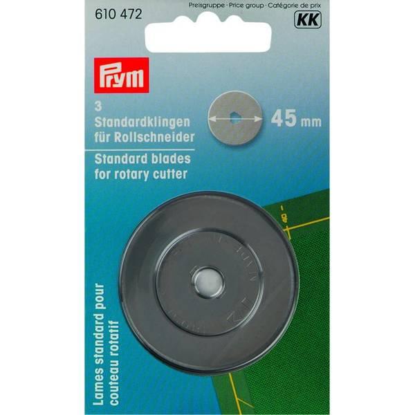 Bilde av Prym 3-pakk 45mm ekstrablad til rullekniv 610472