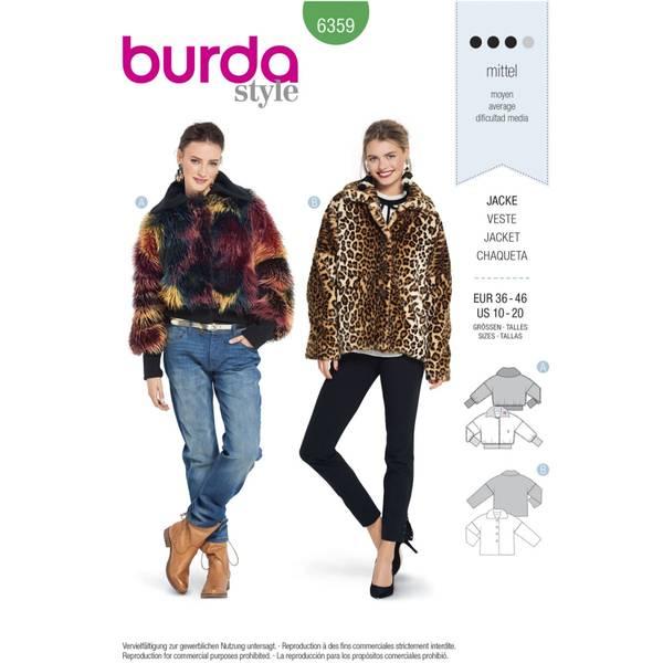 Bilde av Burda Mønster   B6359 Women's Fur Coat