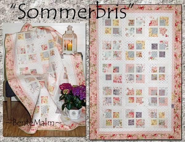 Bilde av 129 Bente Malm Mønster Sommerbris
