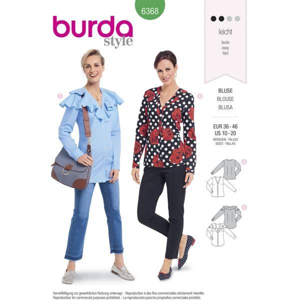 Bilde av Burda Mønster   B6368 Women's Tops