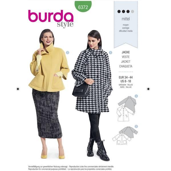Bilde av Burda Mønster   B6372 Women's Jacket