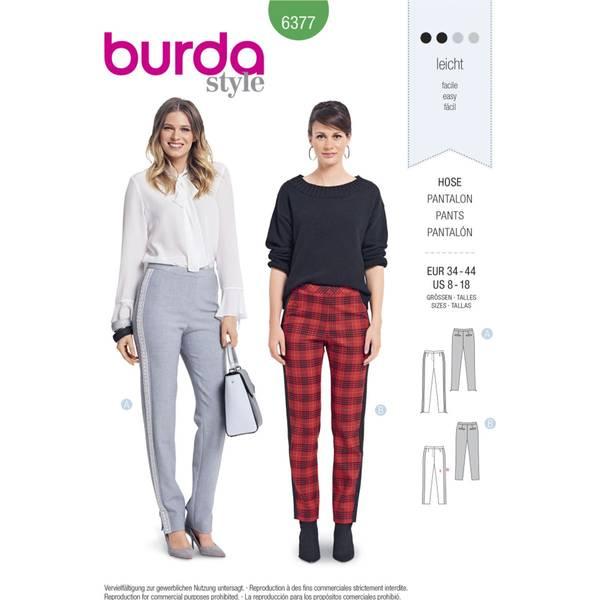 Bilde av Burda Mønster   B6377 Women's Trousers