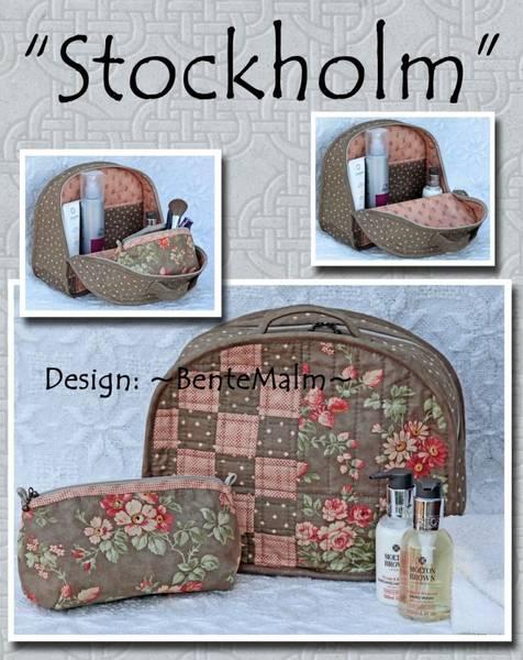 Bilde av 160 Bente Malm Mønster Stockholm