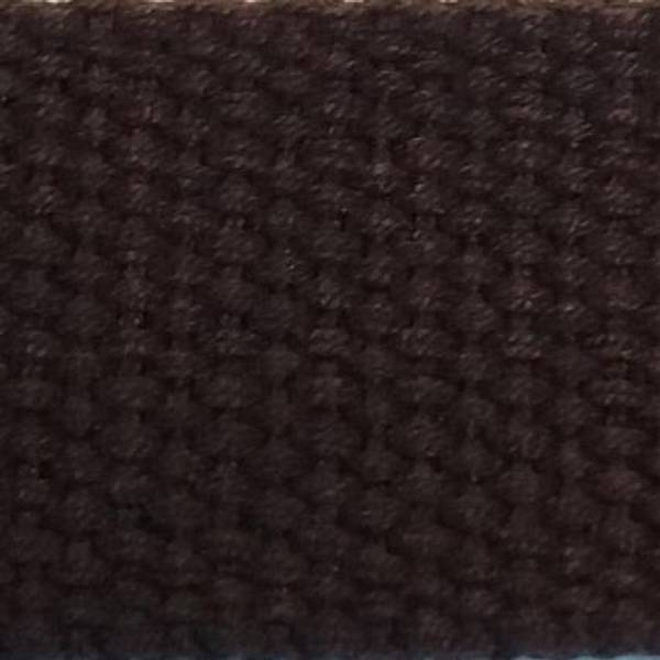 Bilde av Bomullsbånd 30mm Mørk Brun pris pr. 1 meter