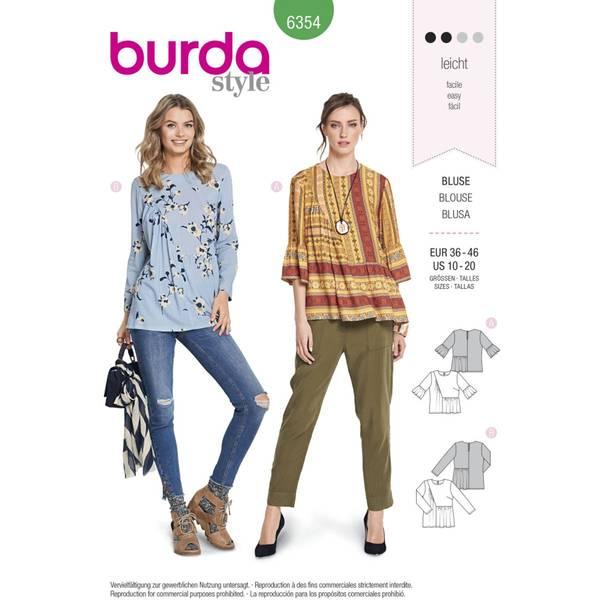 Bilde av Burda Mønster   B6354 Women's Blouse
